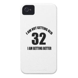 Coque iPhone 4 Case-Mate Je n'obtiens pas vieux 32 que je vais mieux