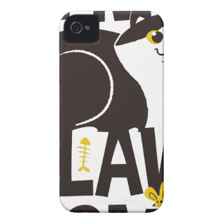 Coque iPhone 4 Case-Mate Je suis chat