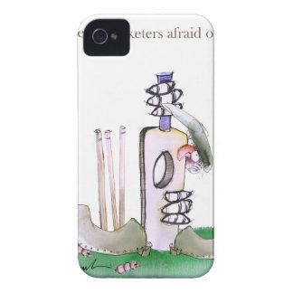Coque iPhone 4 Case-Mate Joueurs de cricket courageux de Yorkshire d'amour