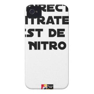 Coque iPhone 4 Case-Mate La Directive Nitrates, c'est de la Nitro - Jeux de