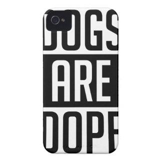 Coque iPhone 4 Case-Mate Les chiens sont dopant