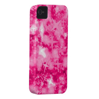 Coque iPhone 4 Case-Mate Les parties scintillantes roses tiennent le