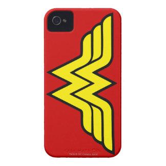 Coque iPhone 4 Case-Mate Logo classique de la femme de merveille  