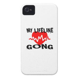 COQUE iPhone 4 Case-Mate MA LIGNE DE VIE CONCEPTIONS DE MUSIQUE DE GONG