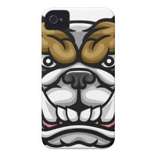 Coque iPhone 4 Case-Mate Mascotte moyenne de sports de bouledogue