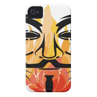Coque iPhone 4 Case-Mate Masque anonyme