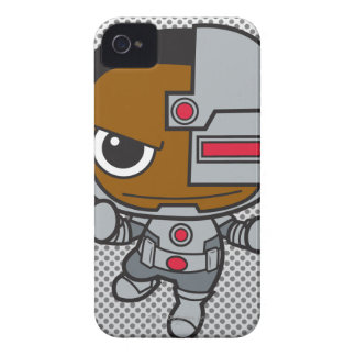 Coque iPhone 4 Case-Mate Mini cyborg