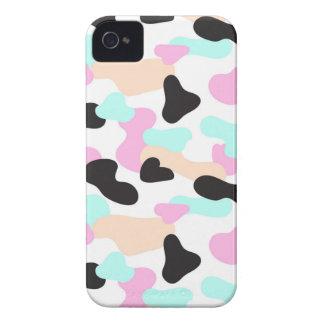 Coque iPhone 4 Case-Mate Motif au néon de camouflage de couleurs