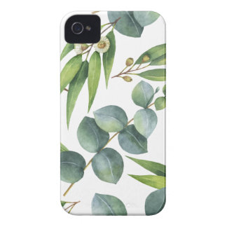 Coque iPhone 4 Case-Mate Motif de feuillage d'eucalyptus