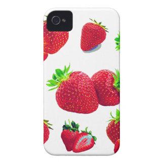Coque iPhone 4 Case-Mate Motif de fruit de fraise