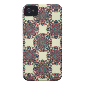 Coque iPhone 4 Case-Mate Motif floral ethnique abstrait coloré de mandala
