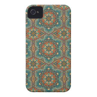 Coque iPhone 4 Case-Mate Motif floral ethnique abstrait coloré de mandala