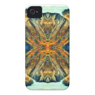 Coque iPhone 4 Case-Mate Motif psychédélique de peinture de chaîne de
