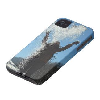 Coque iPhone 4 Case-Mate Neige de lancement de femme