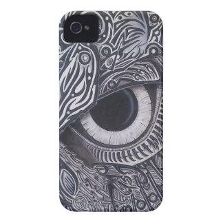 Coque iPhone 4 Case-Mate Oeil tribal jamais de finition de hibou