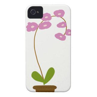Coque iPhone 4 Case-Mate orchidées