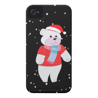 Coque iPhone 4 Case-Mate ours blanc