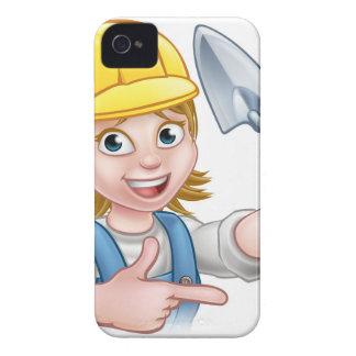 Coque iPhone 4 Case-Mate Outil de truelle de travailleur de la construction