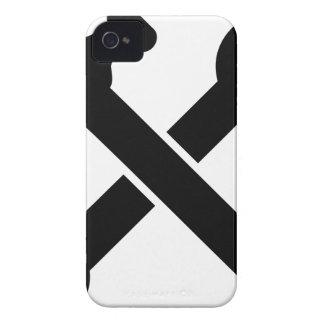 Coque iPhone 4 Case-Mate Outils croisés