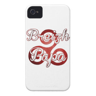 Coque iPhone 4 Case-Mate Papa Bretagne