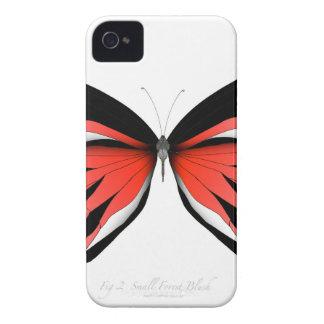 Coque iPhone 4 Case-Mate Papillon rouge 2 par les fernandes élégants