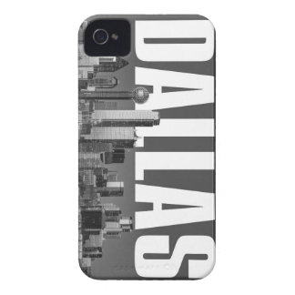 Coque iPhone 4 Case-Mate Paysage urbain de Dallas