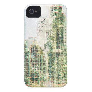 Coque iPhone 4 Case-Mate Paysage urbain et forêt