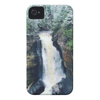 Coque iPhone 4 Case-Mate Péninsule supérieure Michigan d'automnes de