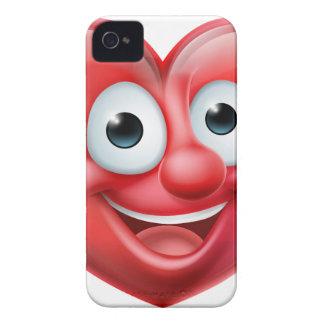 Coque iPhone 4 Case-Mate Personnage de dessin animé d'homme de coeur