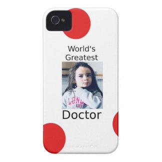 Coque iPhone 4 Case-Mate Plus grand docteur Customizable Photo Design du