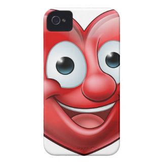 Coque iPhone 4 Case-Mate Pointage du personnage de dessin animé de coeur