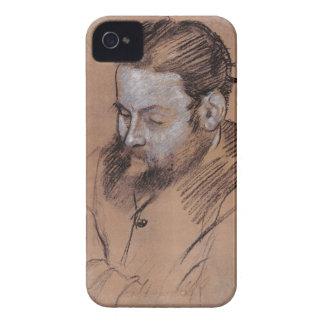 Coque iPhone 4 Case-Mate Portrait d'Edgar Degas | de Diego Martelli