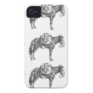 Coque iPhone 4 Case-Mate prière de mule de paquet