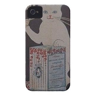 Coque iPhone 4 Case-Mate Publicité française vintage - chats