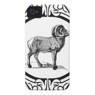 Coque iPhone 4 Case-Mate RAM de fantaisie encadrée