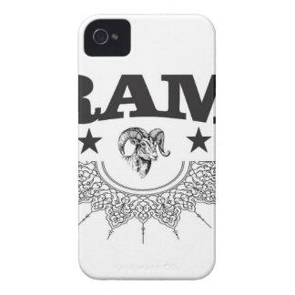 Coque iPhone 4 Case-Mate RAM de l'étoile noire