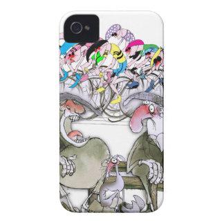 Coque iPhone 4 Case-Mate Reet de t'aint de Yorkshire d'amour portant les
