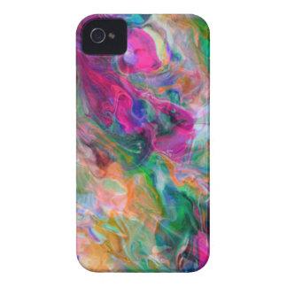 Coque iPhone 4 Case-Mate Remous psychédélique de couleur