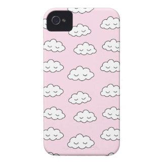 Coque iPhone 4 Case-Mate Rêver des nuages dans le rose
