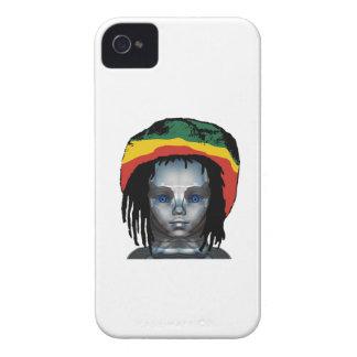 Coque iPhone 4 Case-Mate Robotique Rastafarian