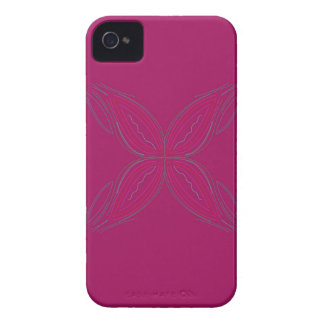 Coque iPhone 4 Case-Mate Rose de mandalas de conception