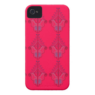Coque iPhone 4 Case-Mate Rouge sauvage de mandalas de conception