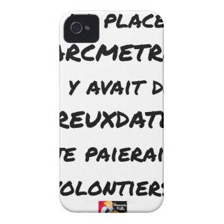COQUE iPhone 4 Case-Mate SI À LA PLACE DES PARCMÈTRES, IL Y AVAIT DES