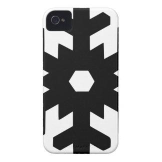 Coque iPhone 4 Case-Mate Silhouette de flocon de neige