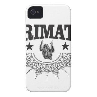 Coque iPhone 4 Case-Mate singe dans l'art d'étiquette