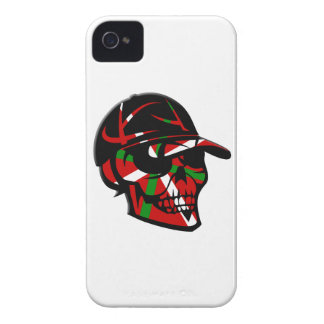 Coque iPhone 4 Case-Mate Skull surfeur Basque