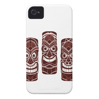 Coque iPhone 4 Case-Mate Temps de Tiki
