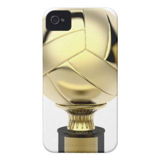Coque iPhone 4 Case-Mate Trophée de volleyball d'or