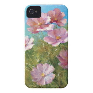Coque iPhone 4 Case-Mate Un jardin floral rose