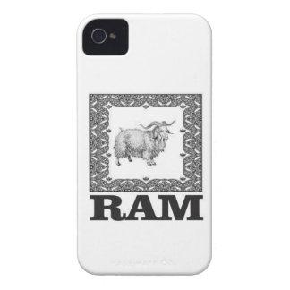 Coque iPhone 4 Case-Mate vieux moutons encadrés